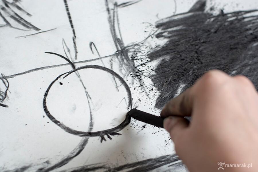 rysowanie węglem