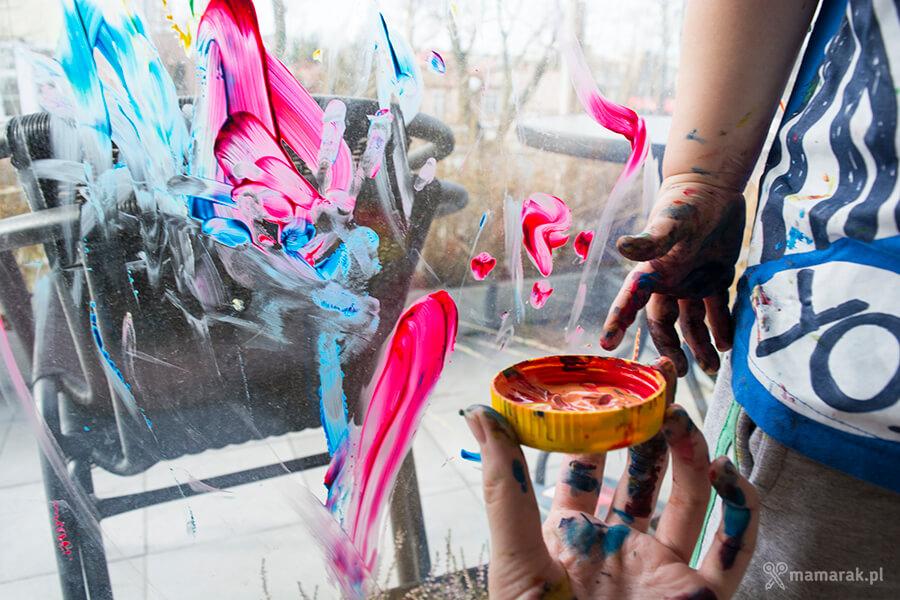 malowanie palcami