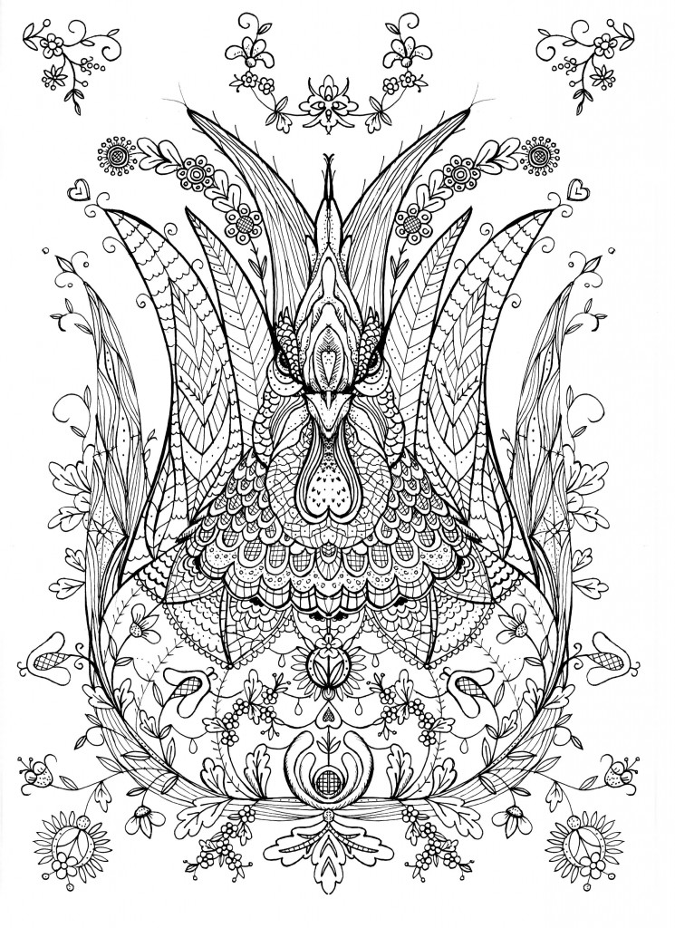 Challenging Free Coloring Pages On Art Coloring Pages