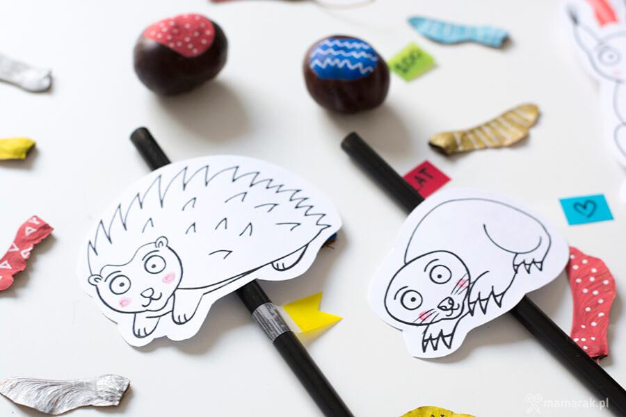 jak narysować jeża