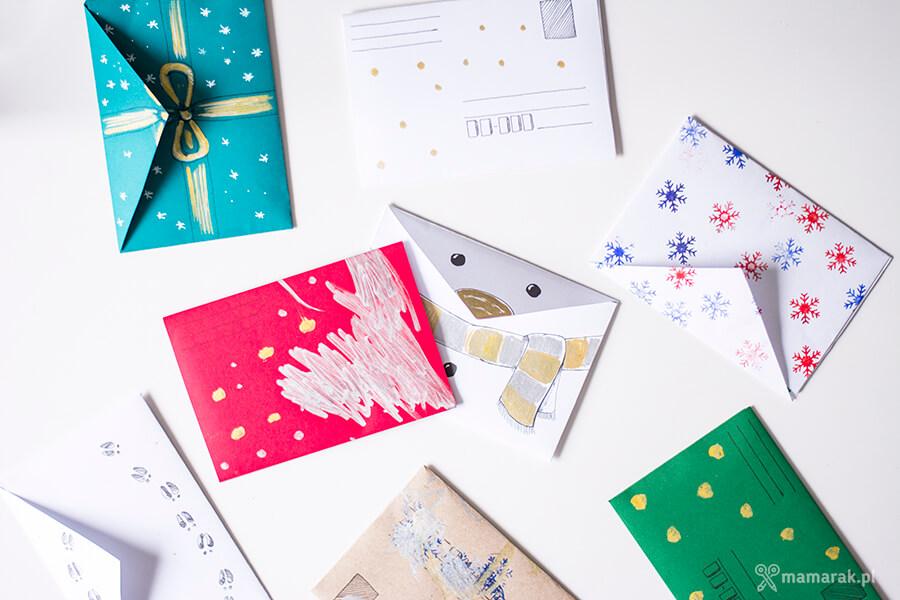 świąteczne koperty